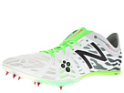 New Balance MMD800v3 White, Lime, Black Shoes