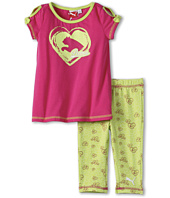 Puma Kids - Slits & Bows Capri Set (Toddler)