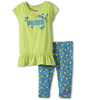 Puma Kids - Puma Print Capri Set (Toddler)