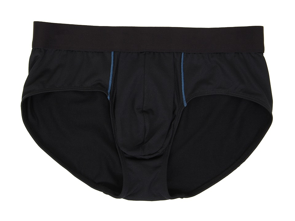 Spanx for Men Pro Wick Brief Black/Blue Mens Underwear