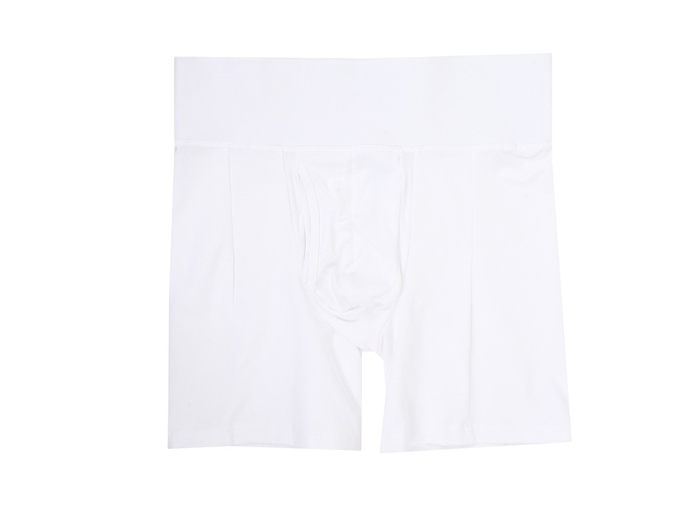Spanx for Men Slim-Waisttm Boxer Brief (White) Men's Underwear