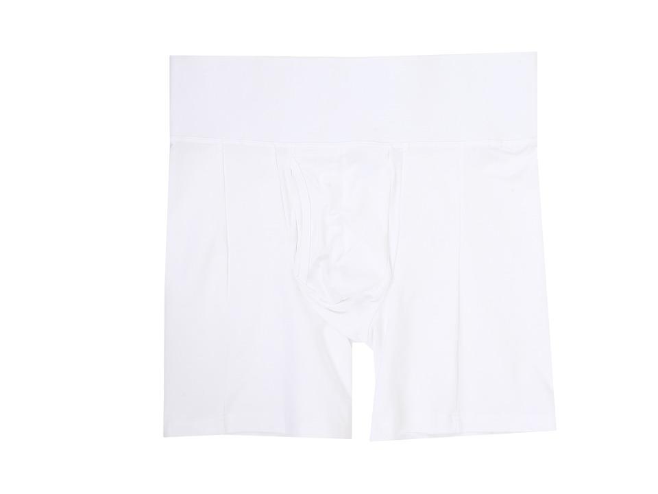 Spanx for Men - Slim-Waist Boxer Brief (White) Men's Underwear