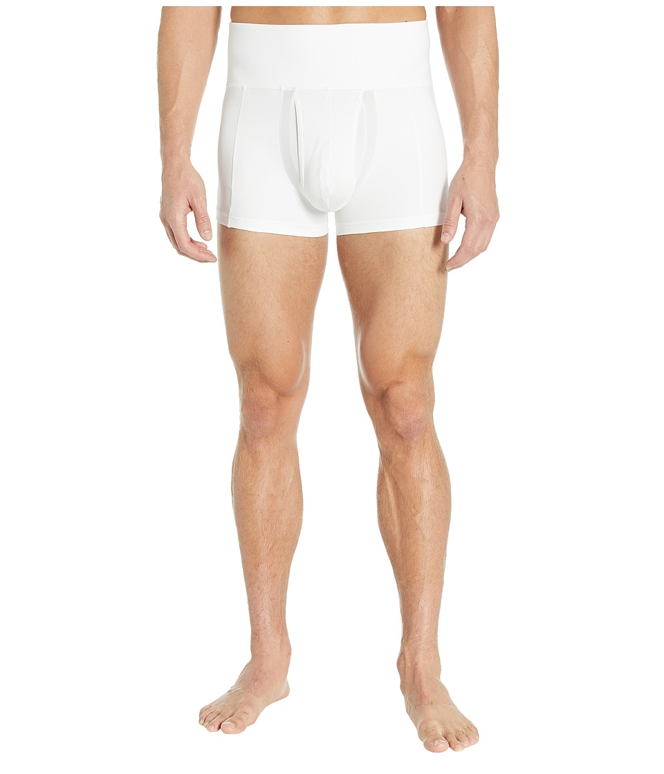 Spanx for Men Slim-Waisttm Trunk (White) Men's Underwear