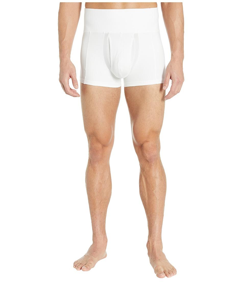 Spanx for Men Slim Waist Trunk White Mens Underwear