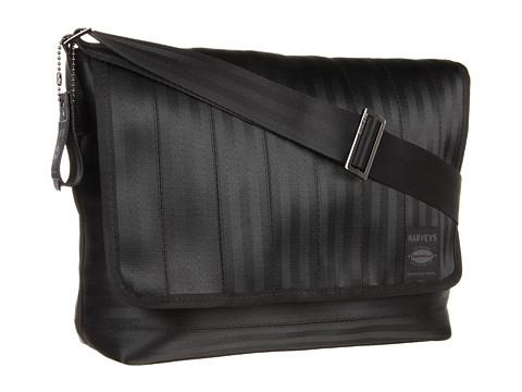 Harveys Seatbelt Bag Black Label Messenger - Black