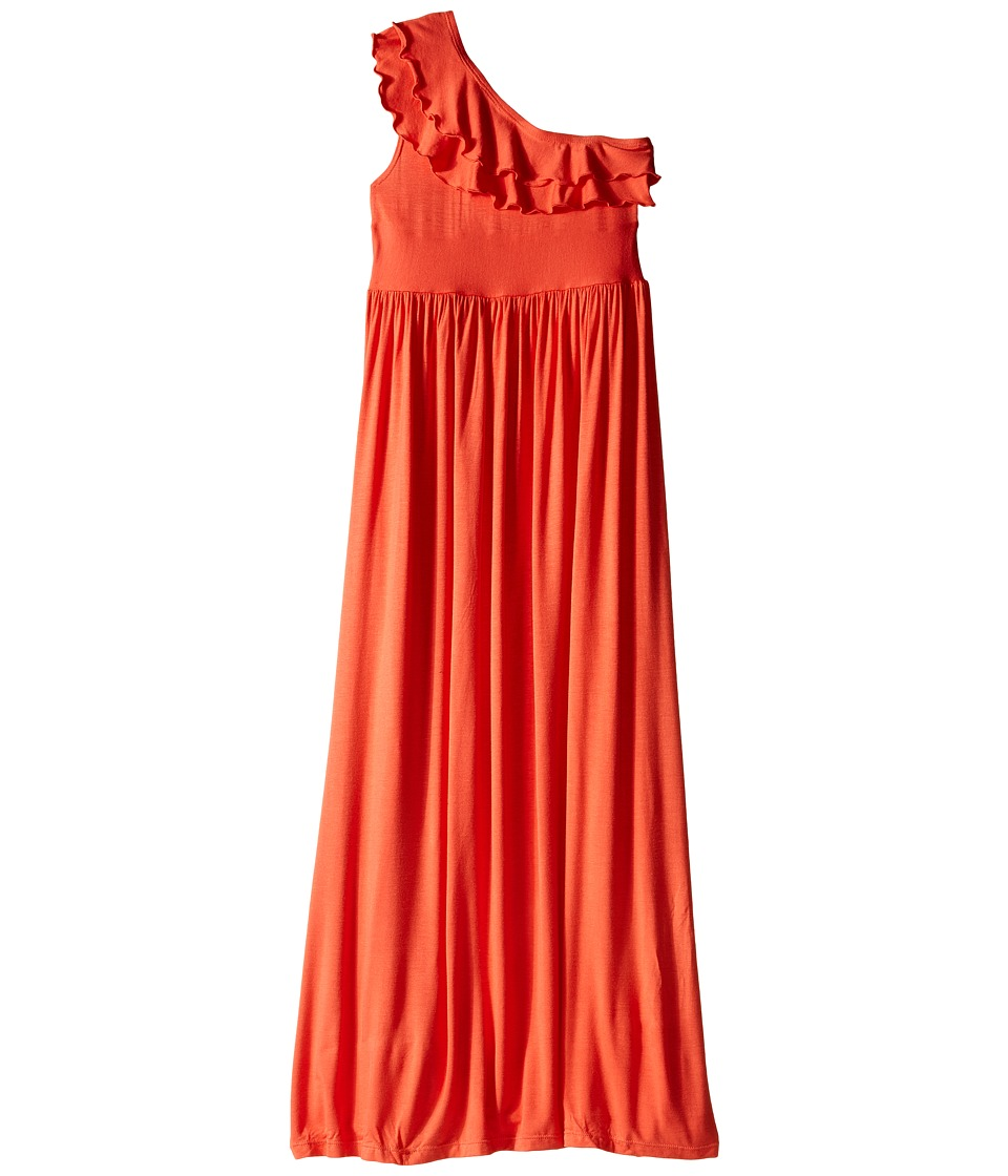 fiveloaves twofish Bedouin Maxi Dress Little Kids/Big Kids Orange Girls Dress