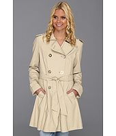 Jessica Simpson - Double Breasted Fit-and-Flare Trench