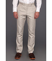 Perry Ellis - Slim Fit Cotton Linen Twill Pant