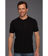 Perry Ellis - S/S Cotton 4-Button Henley