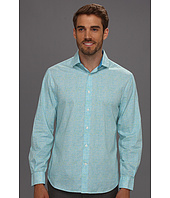 Perry Ellis - Regular Fit Sting Ray Print L/S Shirt