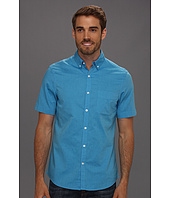 Perry Ellis - Slim Fit Solid Oxford S/S Shirt