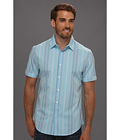 Perry Ellis - Regular Fit Sunshine Plaid S/S Shirt