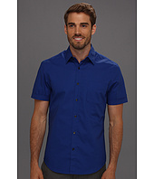Perry Ellis - Regular Fit Dobby Dot S/S Shirt