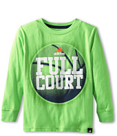 adidas Kids - Full Contact Long-Sleeve Tee (Toddler/Little Kids)