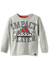 adidas Kids - Impact Player Long-Sleeve Tee (Toddler/Little Kids)