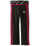 adidas Kids - Workout Pant w/ Fold (Toddler/Little Kids)