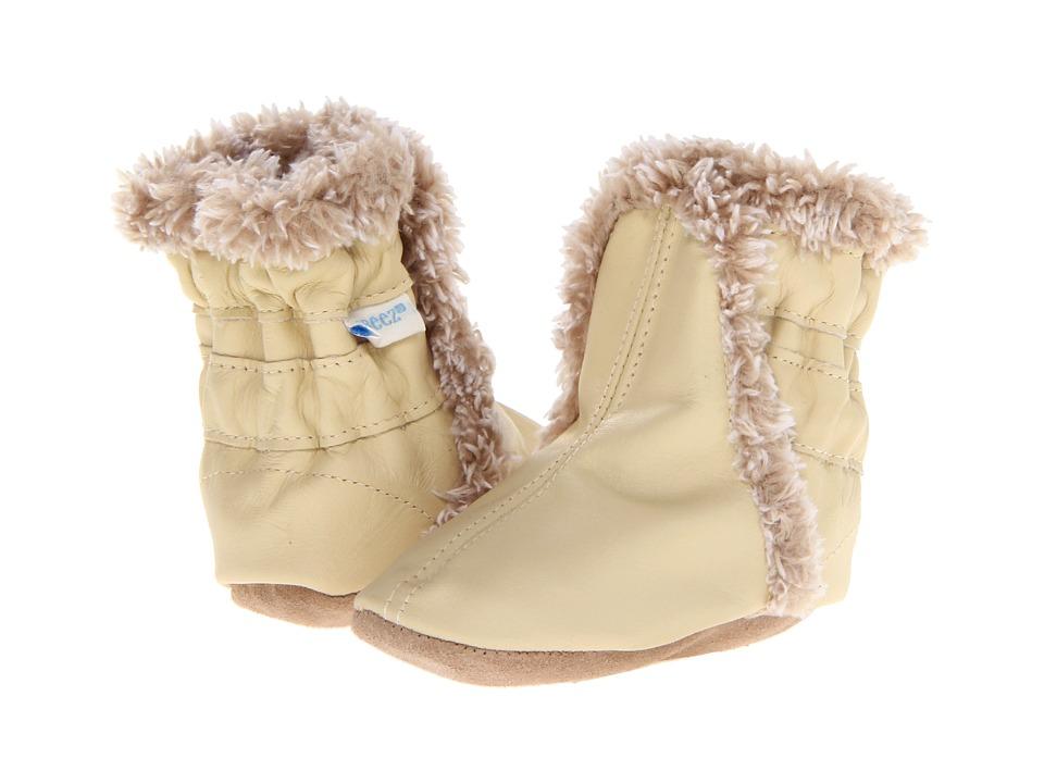 Robeez 1st Stepz Fuzzy Floral Boot Espresso 19 EU Toddler 4 M US Toddler