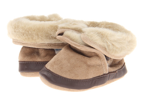 Robeez Cozy Ankle Bootie Bootie (Infant/Todder) - Taupe