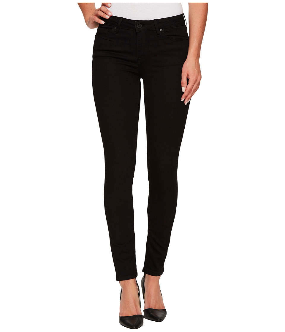 Calvin Klein Jeans Ultimate Skinny Denim in Black Black Womens Jeans