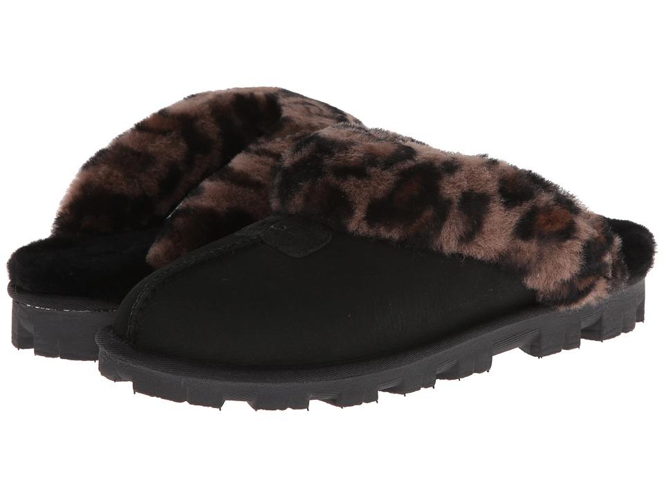 UGG - Coquette Leopard (Black) Women