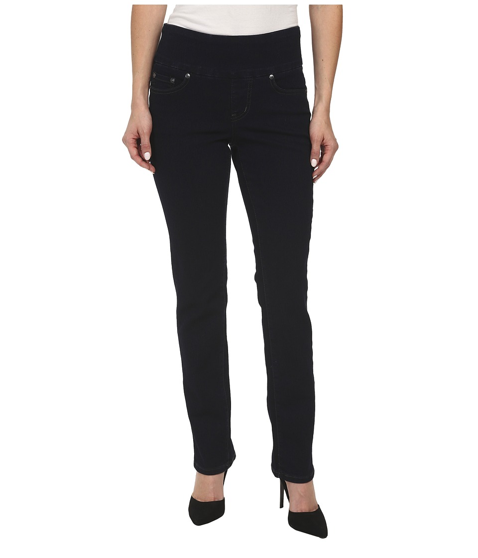 Jag Jeans Petite - Petite Peri Pull-On Straight in After Midnight (After Midnight) Womens Jeans