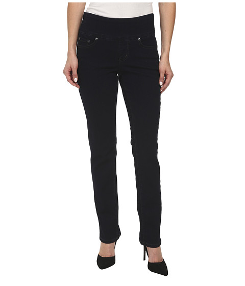 Jag Jeans Petite Petite Peri Pull-On Straight in After Midnight