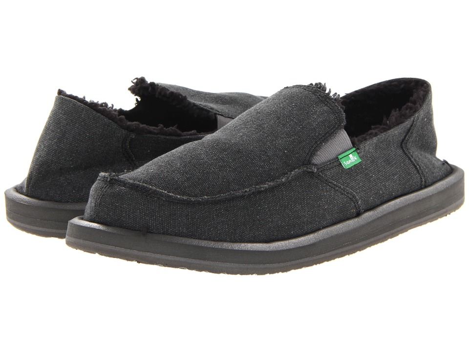 Sanuk - Vagabond Chill (Charcoal 2) Mens Slip on  Shoes