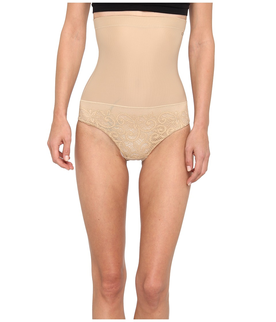 Donna Karan Sculpting Solutions Lace Shaping Brief Nomad/Froth Womens Underwear