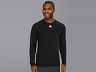 adidas - CLIMAWARM Crew - Graphic Top (Black)