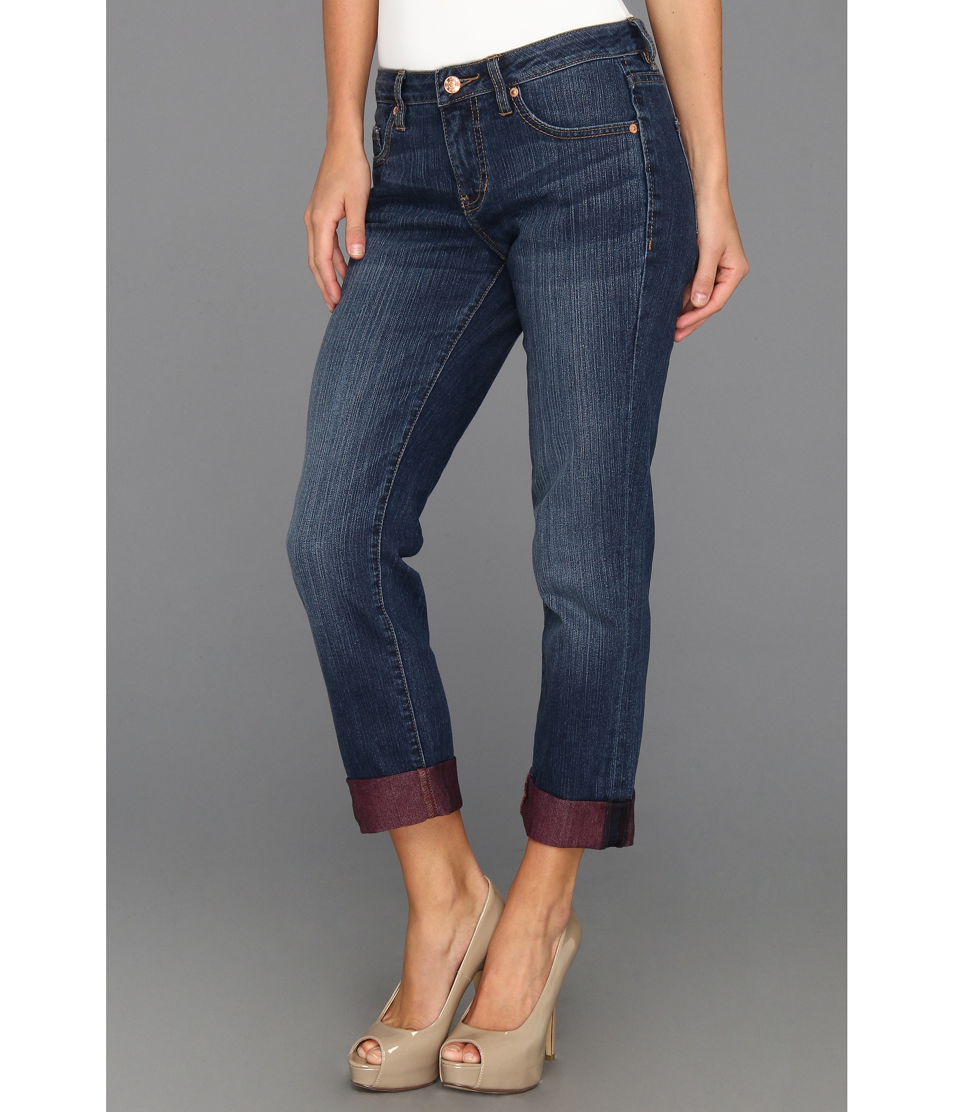 Jag Jeans Henry Relaxed Boyfriend In Red Sea | Shipped Free at Zappos