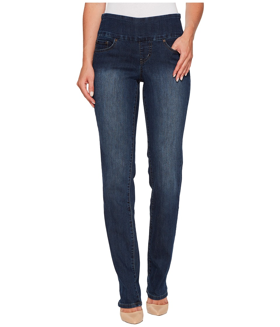 Jag Jeans - Peri Pull-On Straight in Anchor Blue (Anchor Blue) Womens Jeans