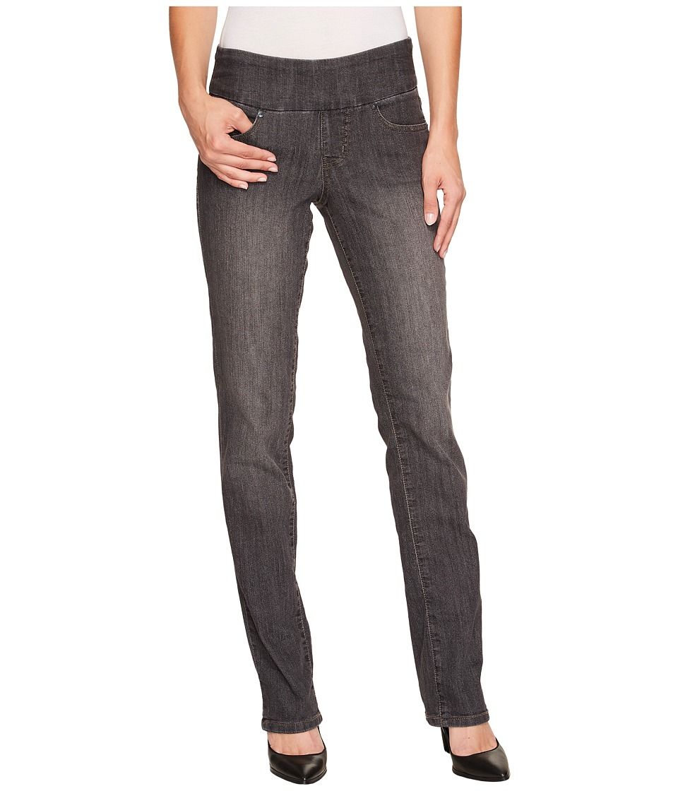 Jag Jeans Peri Pull-On Straight in Thunder Grey (Thunder Grey) Women