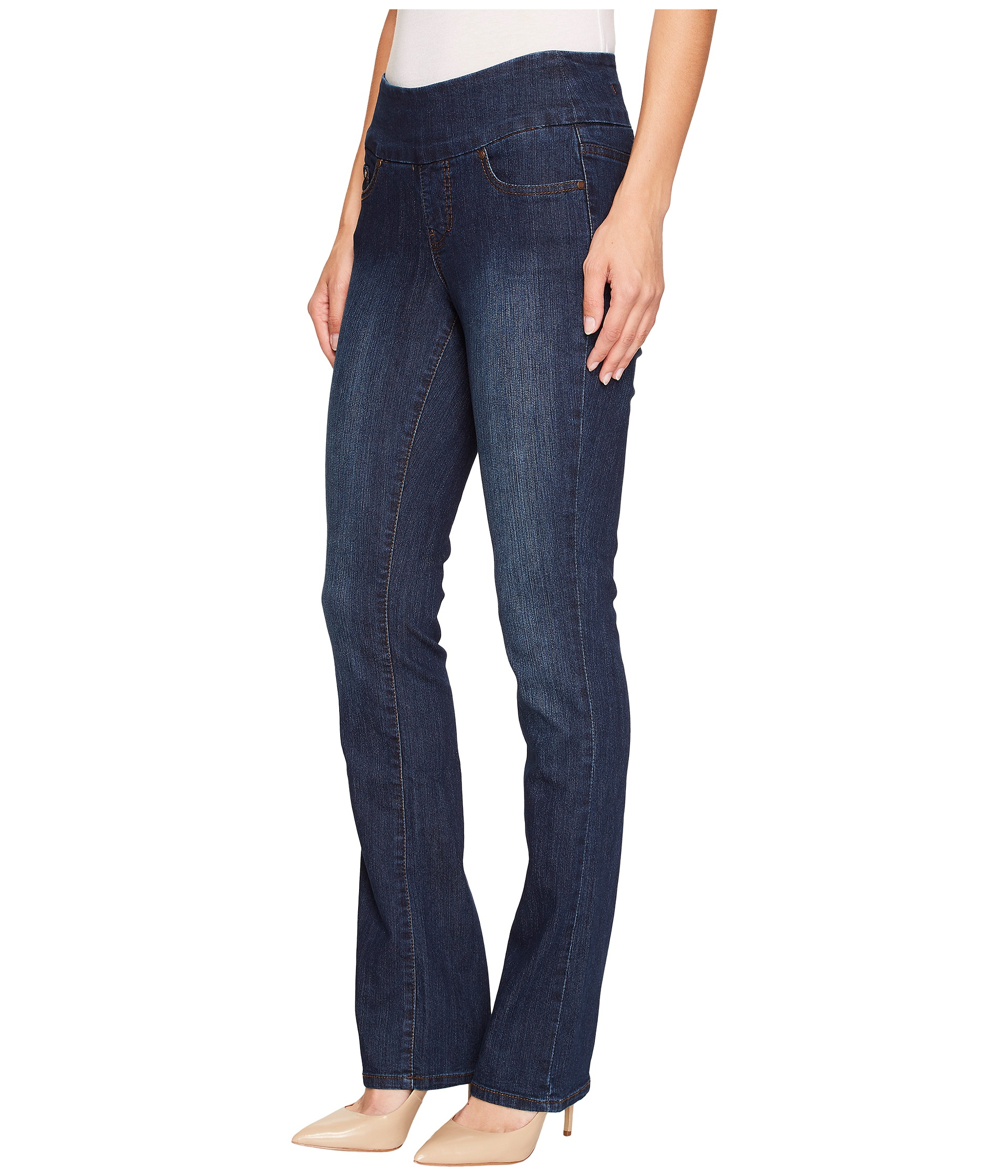 Product Features Relaxed-fit high-rise jean with pull-on waistband and classic Shop Best Sellers· Deals of the Day· Fast Shipping· Read Ratings & Reviews.
