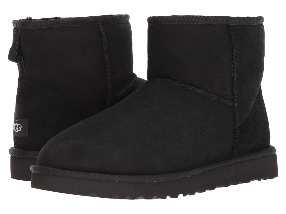 Ugg Classic Mini (Black Twinface) Men's Boots