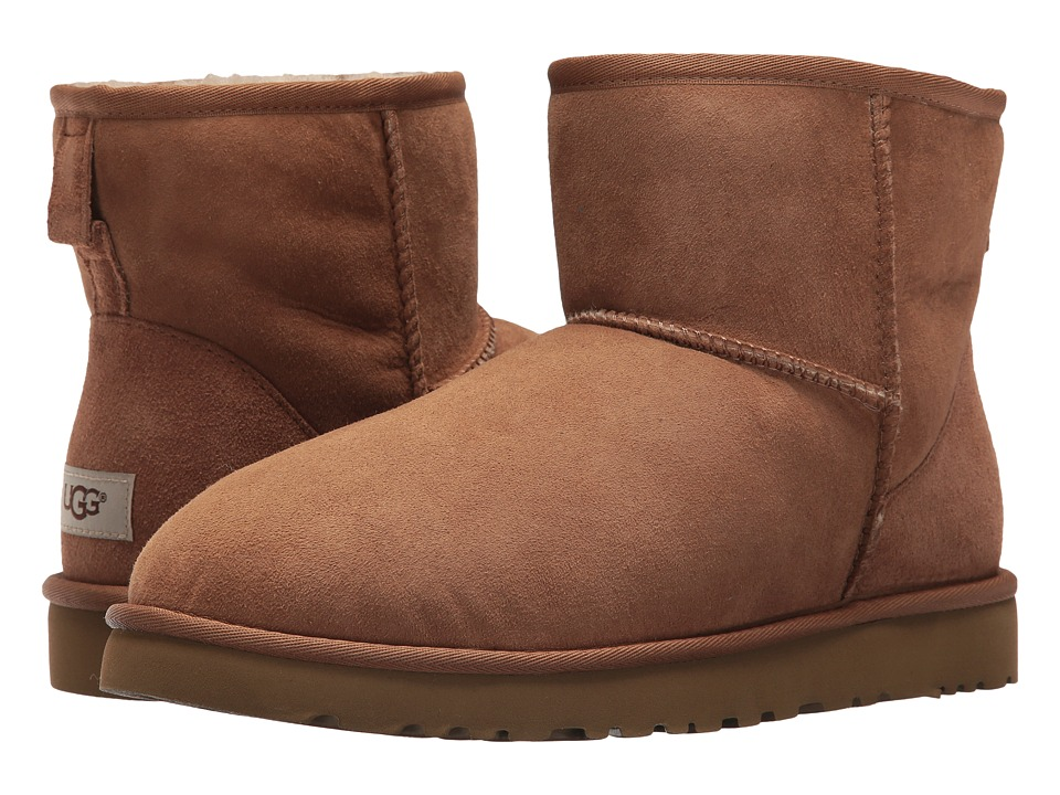 Ugg Classic Mini (Chestnut Twinface) Men's Boots