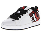 DC - Court Graffik SE (White/Red/Print) - Footwear