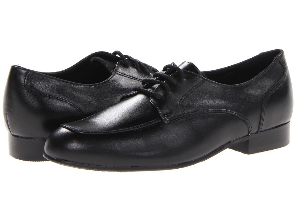 Venettini Kids 55 Deuce Little Kid/Big Kid Black Leather Boys Shoes