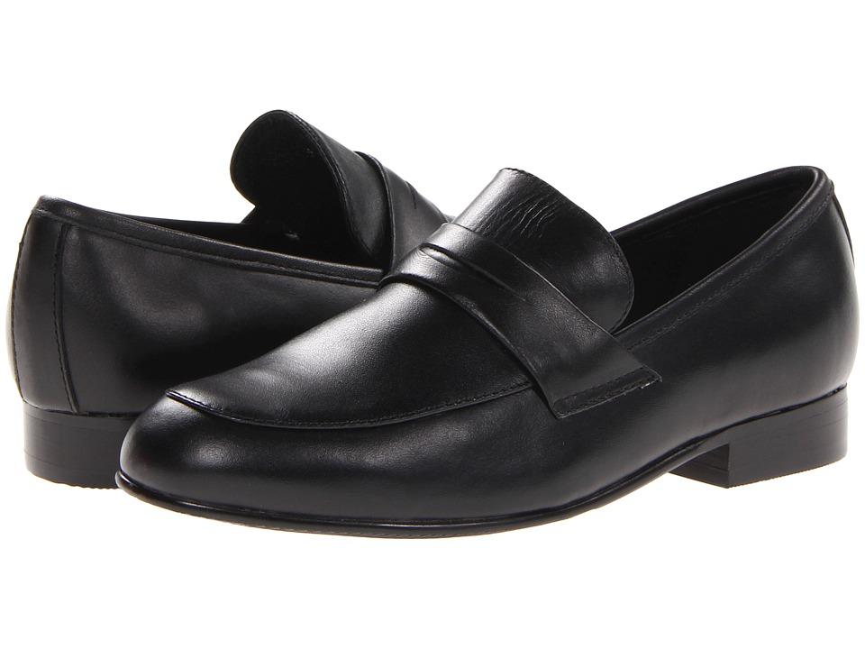 Venettini Kids 55 Ace Little Kid/Big Kid Black Leather Boys Shoes