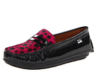 Venettini Kids - 55-Savor (Little Kid/Big Kid) (Black Patent/Fuxia Dot Pony) - Footwear