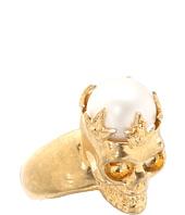 Alexander McQueen - Skull Ring Pearl