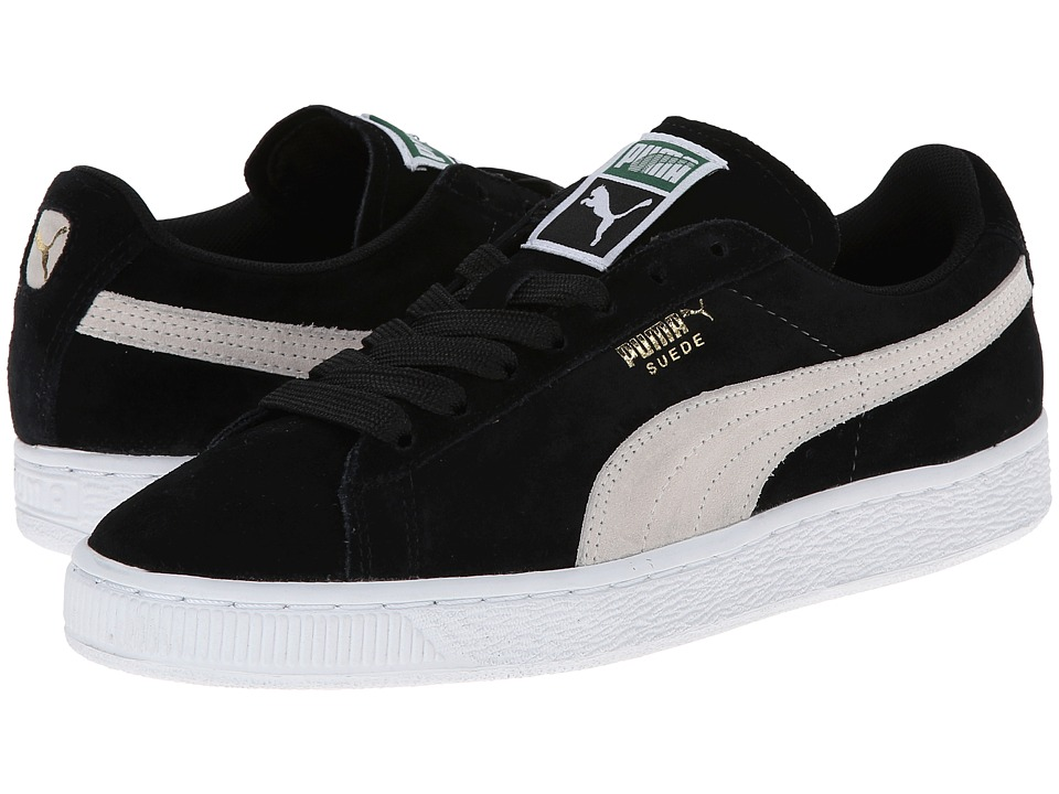 PUMA - Suede Classic Wns (Black H13) Womens  Shoes