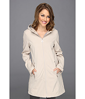 Calvin Klein - Hooded Soft Shell Walker w/ Adjustable Hood and Cuffs CW34J506