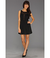 BCBGeneration - Deep Front Contrast Dress KYI6W373