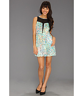 BCBGeneration - Deep Front Contrast Dress ELH6X143