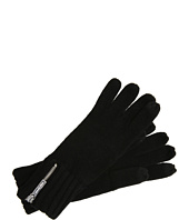 MICHAEL Michael Kors - Michael Kors 2X2 Rib Gloves With Touch Finger
