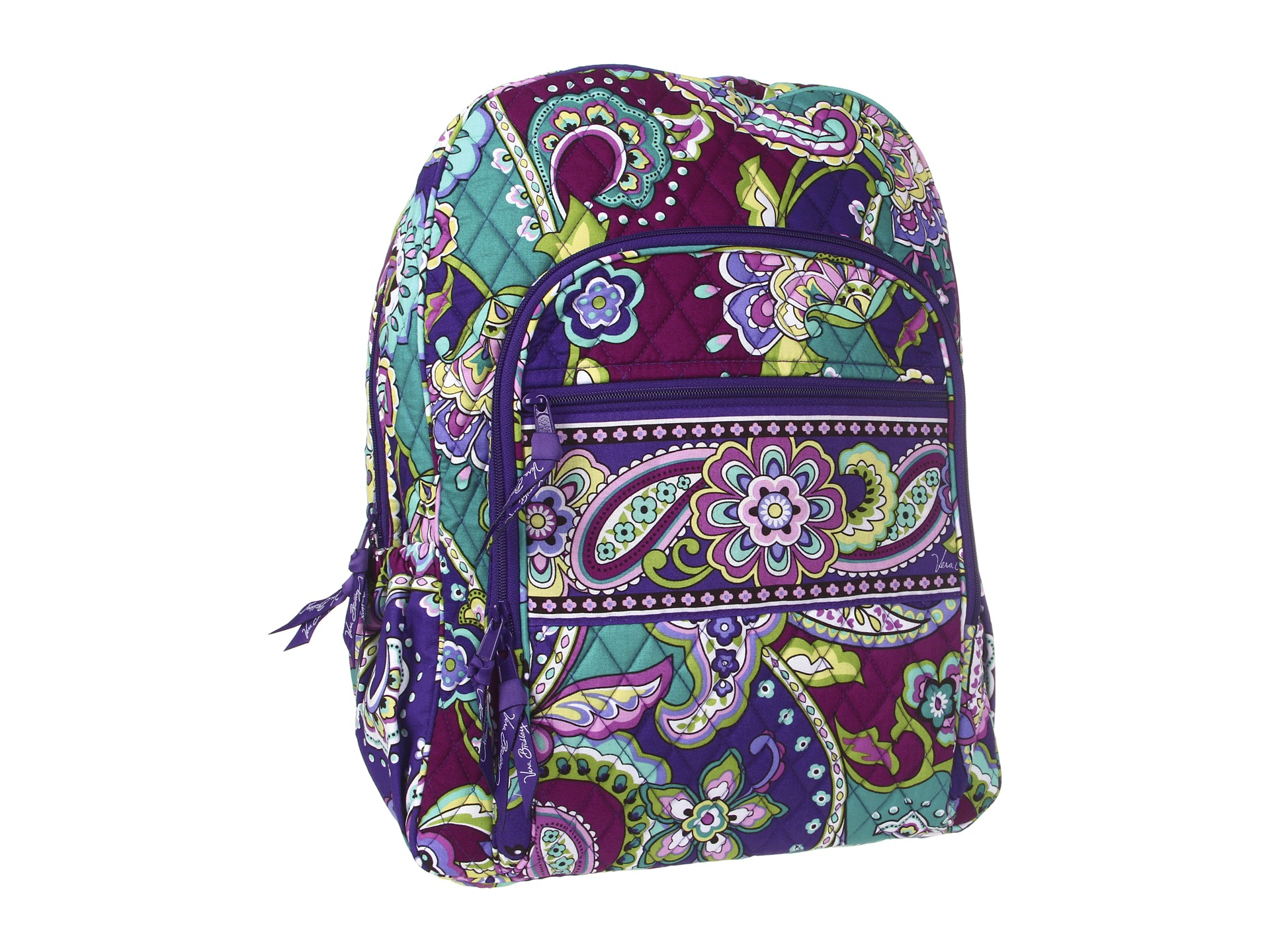FREE COMMUTE: The Vera Bradley Iconic Campus Backpack is made from our Vera Bradley Lighten Up Grande Laptop Backpack, Polyester. by Vera Bradley. $ - $ $ 56 $ 98 Prime. FREE Shipping on eligible orders. Some colors are Prime eligible. 4 .