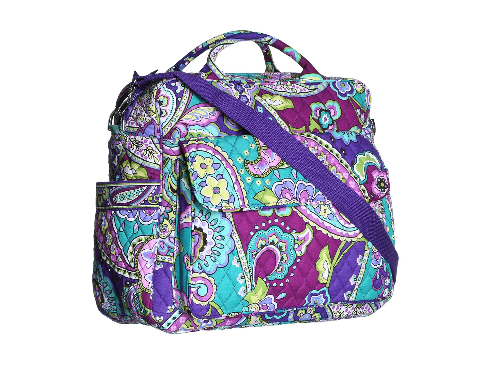 vera bradley convertible baby bag heather shipped free at zappos. Black Bedroom Furniture Sets. Home Design Ideas