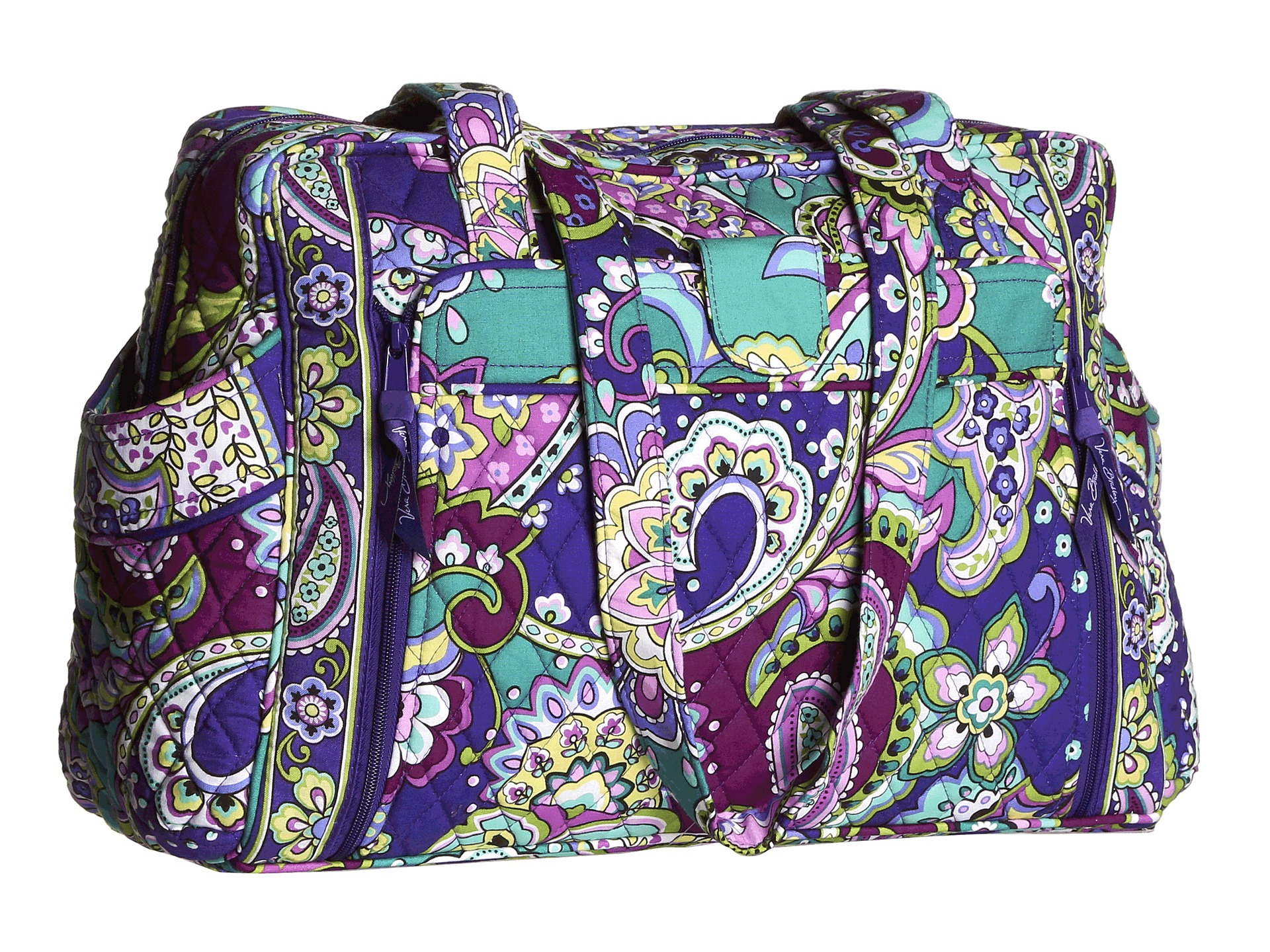 vera bradley make a change baby bag free shipping both ways. Black Bedroom Furniture Sets. Home Design Ideas