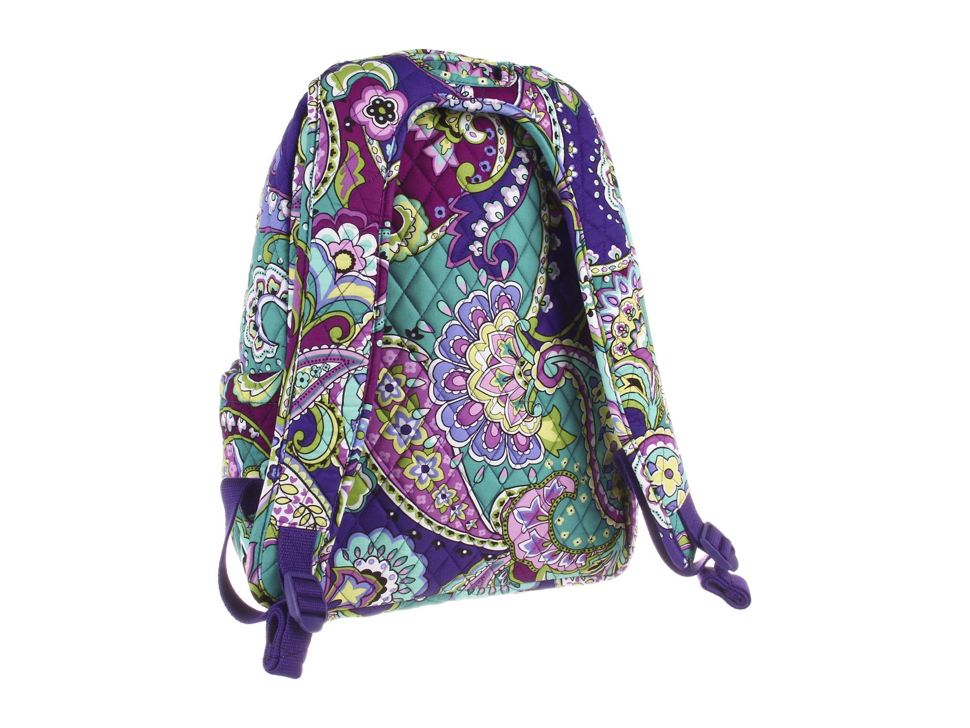 vera bradley backpack baby bag black shipped free at zappos. Black Bedroom Furniture Sets. Home Design Ideas