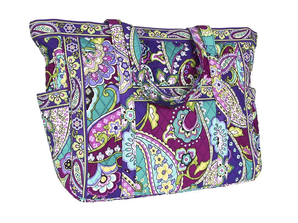 Vera Bradley Get Carried Away Tote Vera Bradley Luggage Get Carried Away Tote Heather Tote Handbags